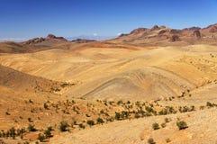 Alpejski krajobraz w atlant górach Zdjęcia Royalty Free