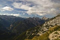 Alpejski krajobraz w Slovenia Zdjęcie Stock