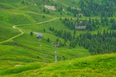 Alpejski szczytu landskape tło Jungfrau, Bernese średniogórze Alps, turystyka, podróż, wycieczkuje pojęcie zdjęcia stock