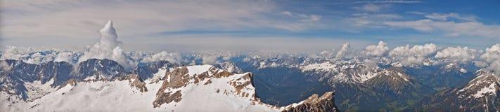 Alpejski widok Zdjęcia Royalty Free