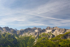 Alpejski widok Obraz Stock