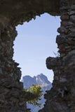 Alpejski widok Zdjęcie Royalty Free