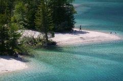 Alpejskie plaże fotografia stock