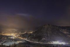 Alpen in Österreich Stockfotos