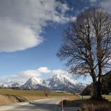 alpen Österrike Royaltyfria Foton