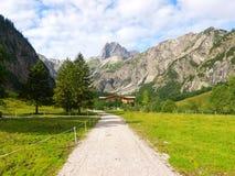 Alpen fotografia stock