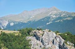 Alpen royalty-vrije stock afbeelding