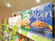 Alpen Fotografia Stock Libera da Diritti