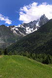 Alpen, Chamonix Royalty-vrije Stock Foto
