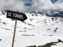 Alpen in de winter Royalty-vrije Stock Foto