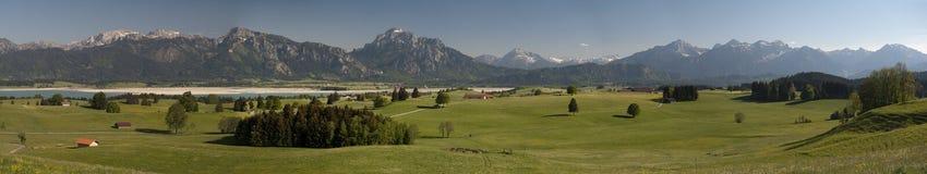 Alpen in Deutschland lizenzfreie stockfotografie
