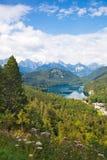 Alpen-Deutschland-Landschaft Stockfoto
