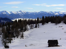 Alpen die Schweiz Stockbild