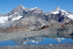 Alpen die Schweiz Stockfotos