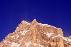 Alpen - Dolomiet - Italië Royalty-vrije Stock Foto's