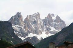 Alpen - Dolomiti - Italië Stock Foto's