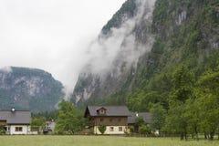 Alpen Dorf Lizenzfreies Stockfoto