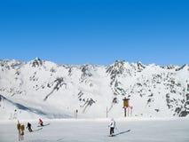Alpen het ski?en royalty-vrije stock fotografie