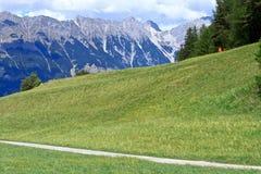 Alpen in Innsbruck, Österreich lizenzfreie stockfotografie