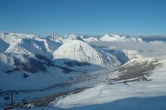 Alpen in Italië Stock Afbeelding