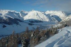 Alpen in Italië Royalty-vrije Stock Afbeeldingen