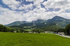 Alpen Konigsee lizenzfreies stockfoto