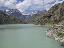 Alpen lake Royalty Free Stock Images