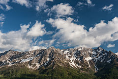 Alpen Landscape. Beautiful landscape photo of mountains on the Swiss Alps royalty free stock photo