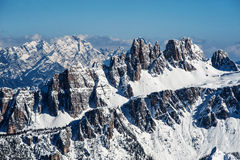 Alpen Mountain range in Italy #2 Royalty Free Stock Image