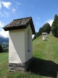 Alpen mountains, Austria - traditional mountains village Royalty Free Stock Photos