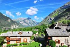 Alpen op de zomer Royalty-vrije Stock Foto's