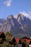 Alpen stad Arkivbilder