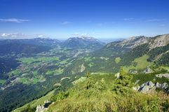 Alpen van Beieren, Duitsland Berchtesgaden Stock Foto