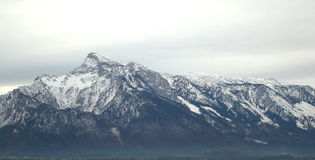 Alpen. A view of austrian Alpen royalty free stock images