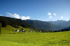 Alpen village Stock Photo