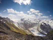 Alpen in Zermatt stock fotografie