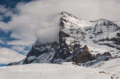 Alpen Zwitserland Stock Afbeelding