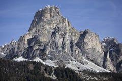 Alpenberge Stockfotos