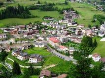Alpendorf Lizenzfreie Stockfotos