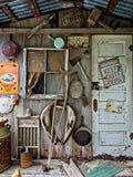Alpendre das traseiras do abandono em TX Foto de Stock Royalty Free
