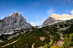 Alpengebirgslandschaft Lizenzfreies Stockfoto