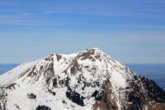 Alpengebirgsvogelperspektive pho der Niesen-Berg-Schweiz Schweizer Lizenzfreie Stockbilder