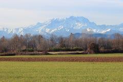 Alpengebirgszug Lizenzfreies Stockbild