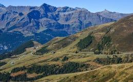 Alpengipfel von Grindelwald die Schweiz lizenzfreie stockbilder