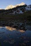 Alpenglow Fotografia Stock