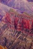 Alpenglow dipinge le scogliere Fotografia Stock Libera da Diritti