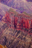 Alpenglow paints the cliffs Royalty Free Stock Photography
