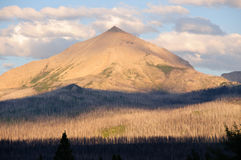 Alpenglow in the wilderness Royalty Free Stock Image