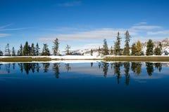 Alpensee im Gasteingebirge Alpen Fotografia Stock Libera da Diritti