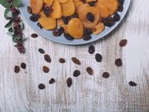 Alperces secados e raisins foto de stock royalty free